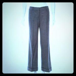 Burberry wool cuffed trouser